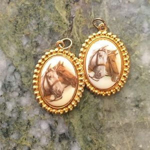Retro BFF Horse Charms
